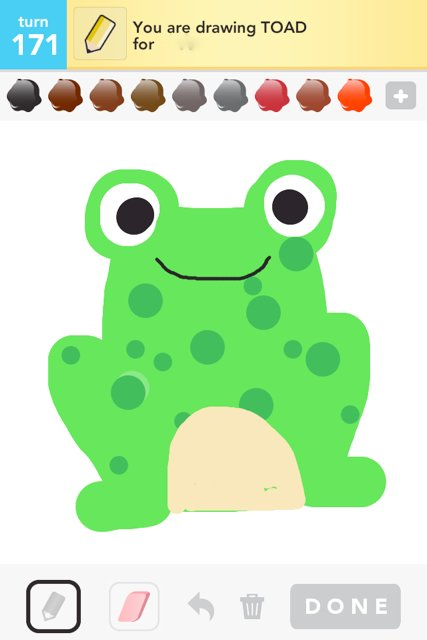427x640 Toad Drawings
