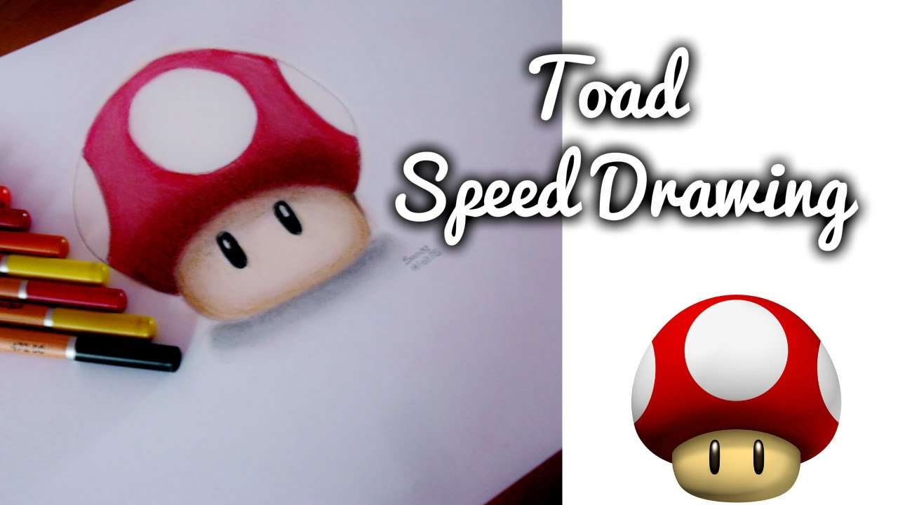 Toad Mario Drawing At Getdrawings Com Free For Personal Use Toad