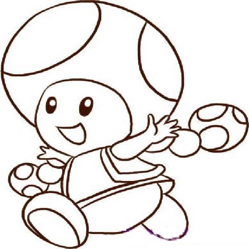 toad mario drawing at getdrawings free