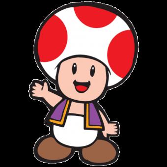 340x340 Toad (Mario) Animegaming Toad, Mario Bros