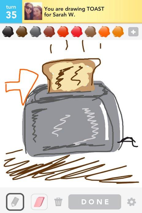 463x694 Toast Drawings