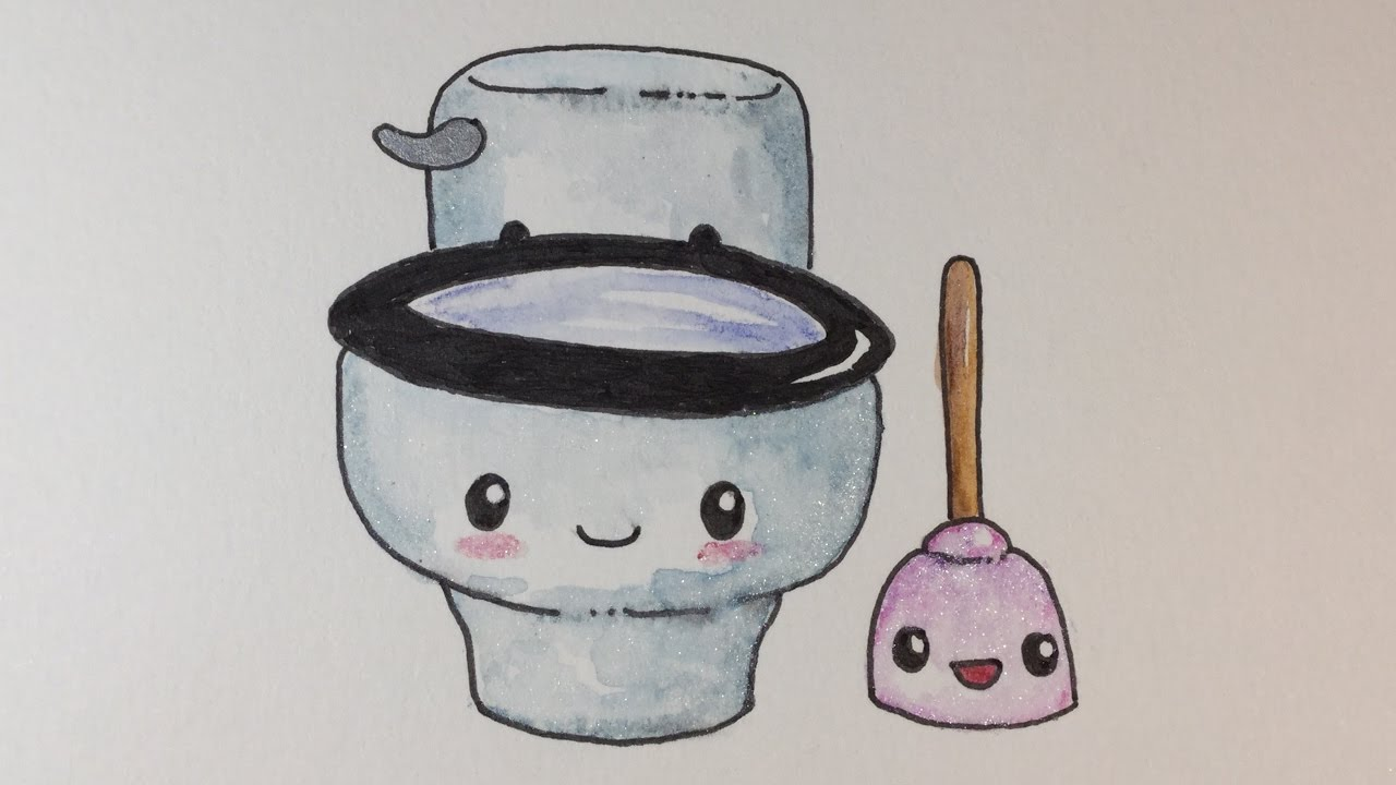 Line Drawing Toilet : Toilet drawing at getdrawings free for personal use