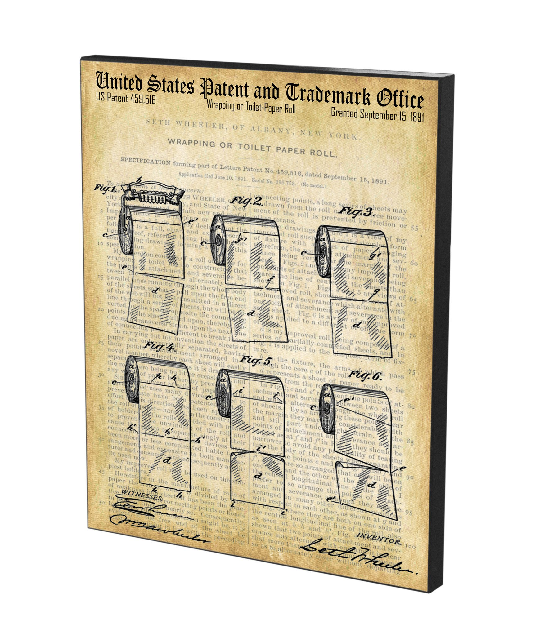 1724x2048 Toilet Paper Roll Patent Historic Bathroom Patents Series