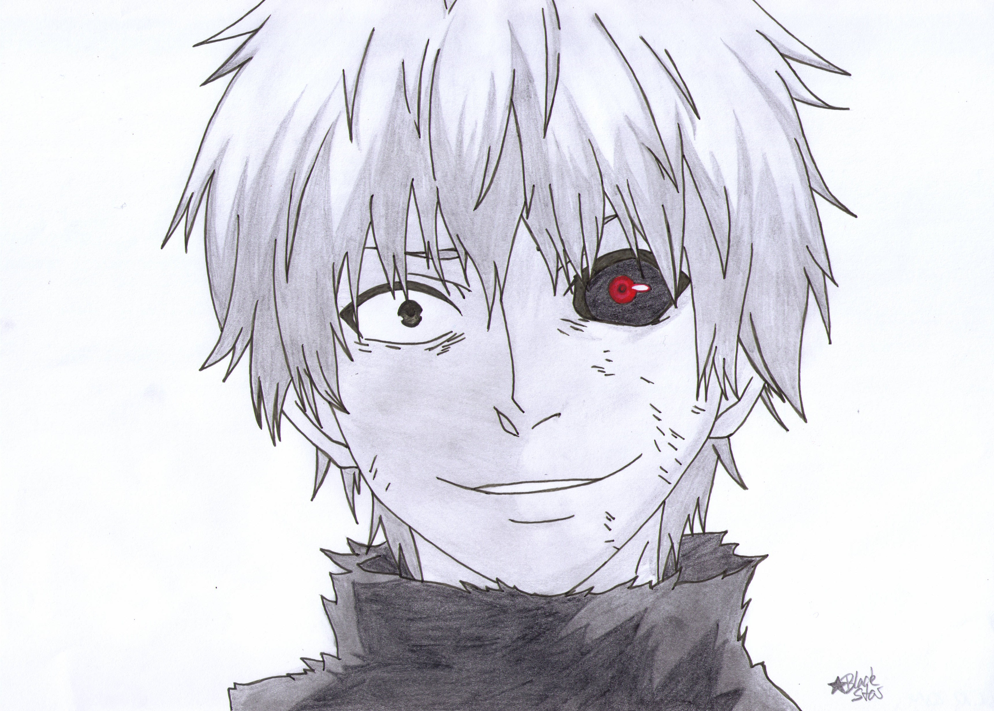 Tokyo Ghoul Drawing At Getdrawings Com Free For Personal