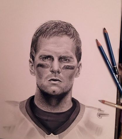 417x475 Meet The Senior Whose Drawing Tom Brady Went Viral Best