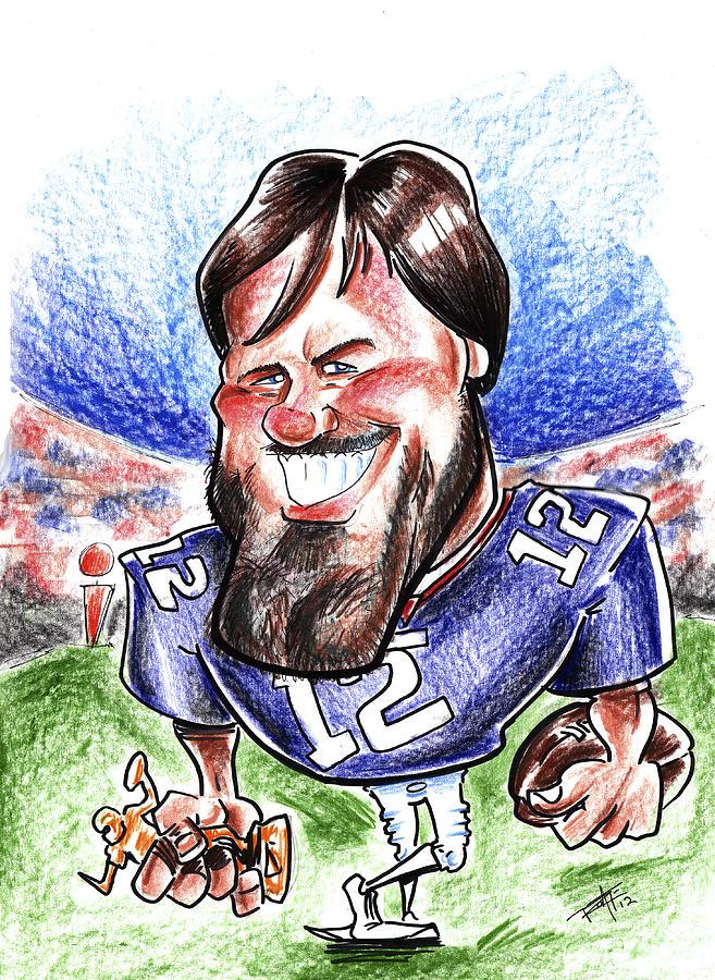 657x900 Tom Brady Drawing By Big Mike Roate