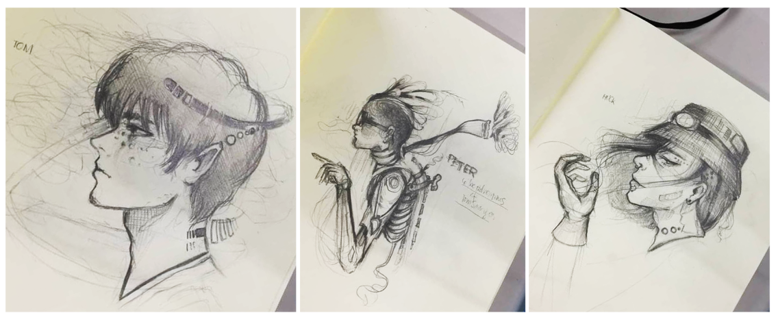 1136x473 Drawing The Adventures Of Tom Sawyer And Friends In Steampunk