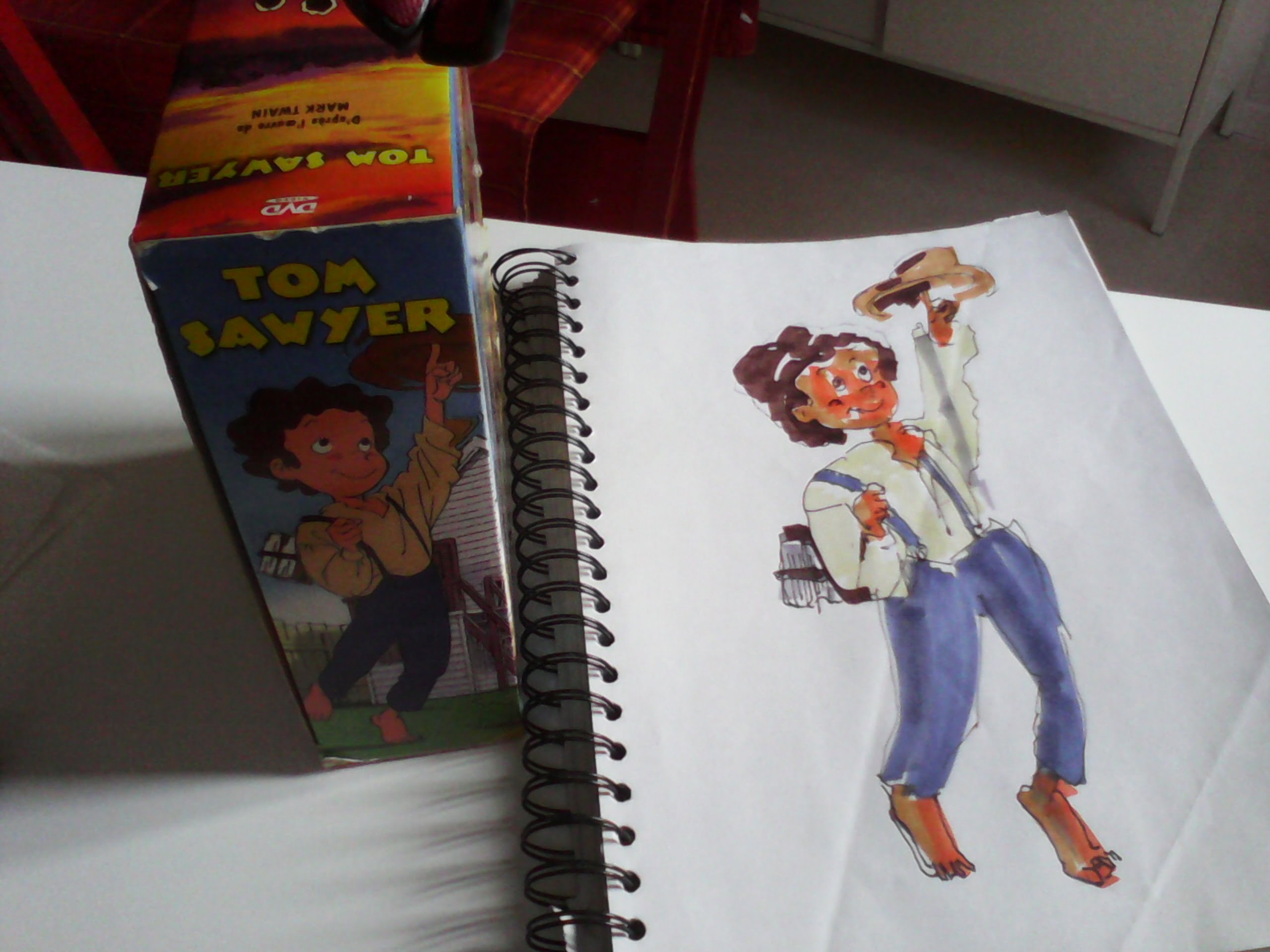 2560x1920 How To Draw Tom Sawyer