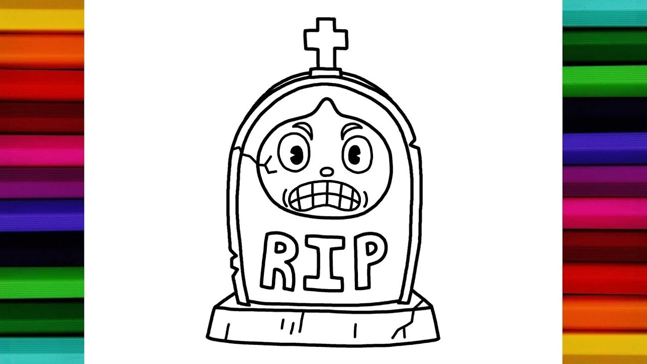 1280x720 How To Draw Goopy Tombstone Cuphead