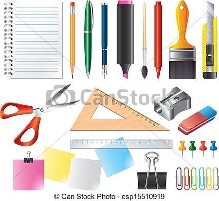 450x414 Drawing Tools Clipart