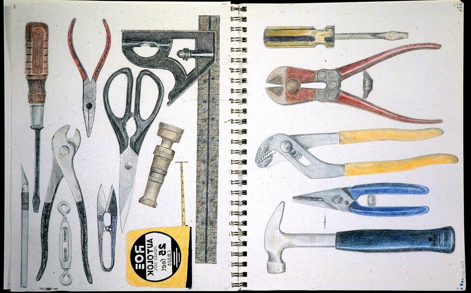 1600x997 B. J. Adams Small Art Work Hardware And Tools