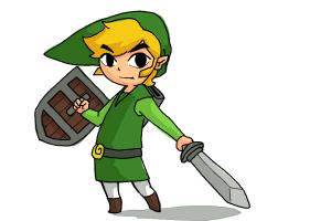 300x200 How To Draw Toon Link Step By Step
