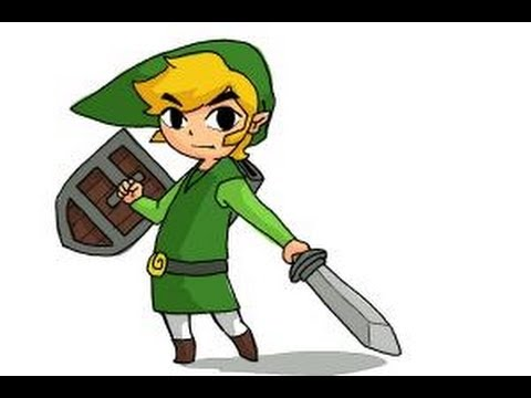 480x360 How To Draw Toon Link Step By Step