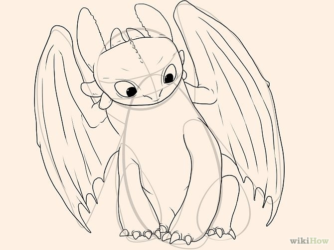 670x503 Draw Toothless Toothless, Drawings And Dragons