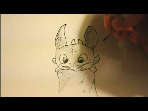 480x360 How To Draw Toothless From How To Train Your Dragon 2easystep By