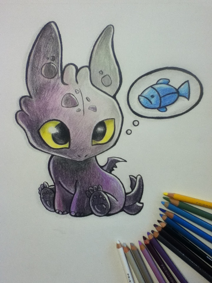 720x960 I Drew A Baby Toothless Drawing