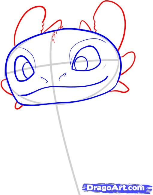 510x648 Drawing Toothless For Invitations Kids Birthday Party Ideas