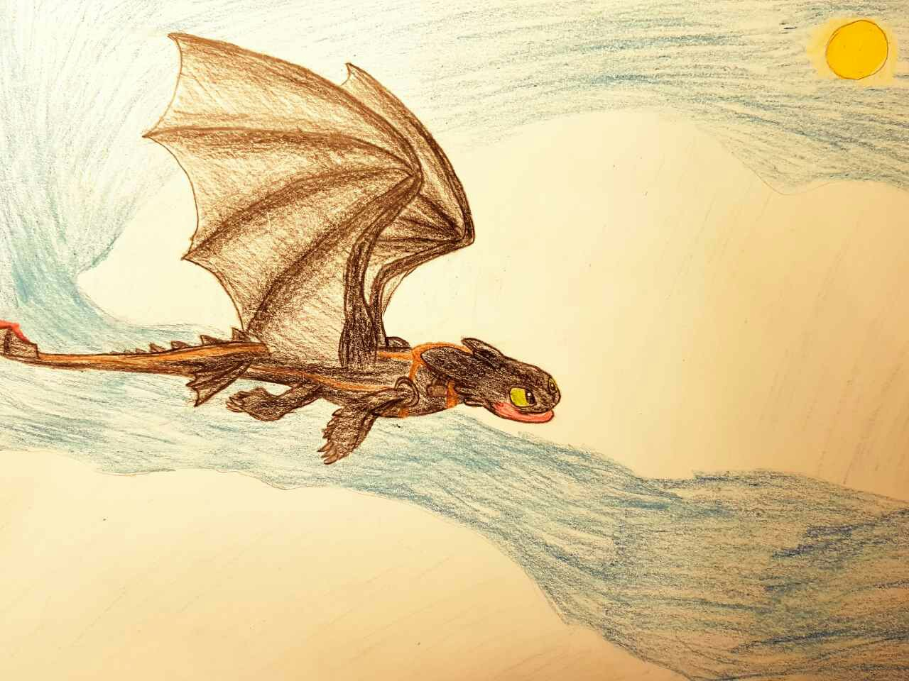 1280x960 Flying Toothless!! How To Train Your Dragon Toothless