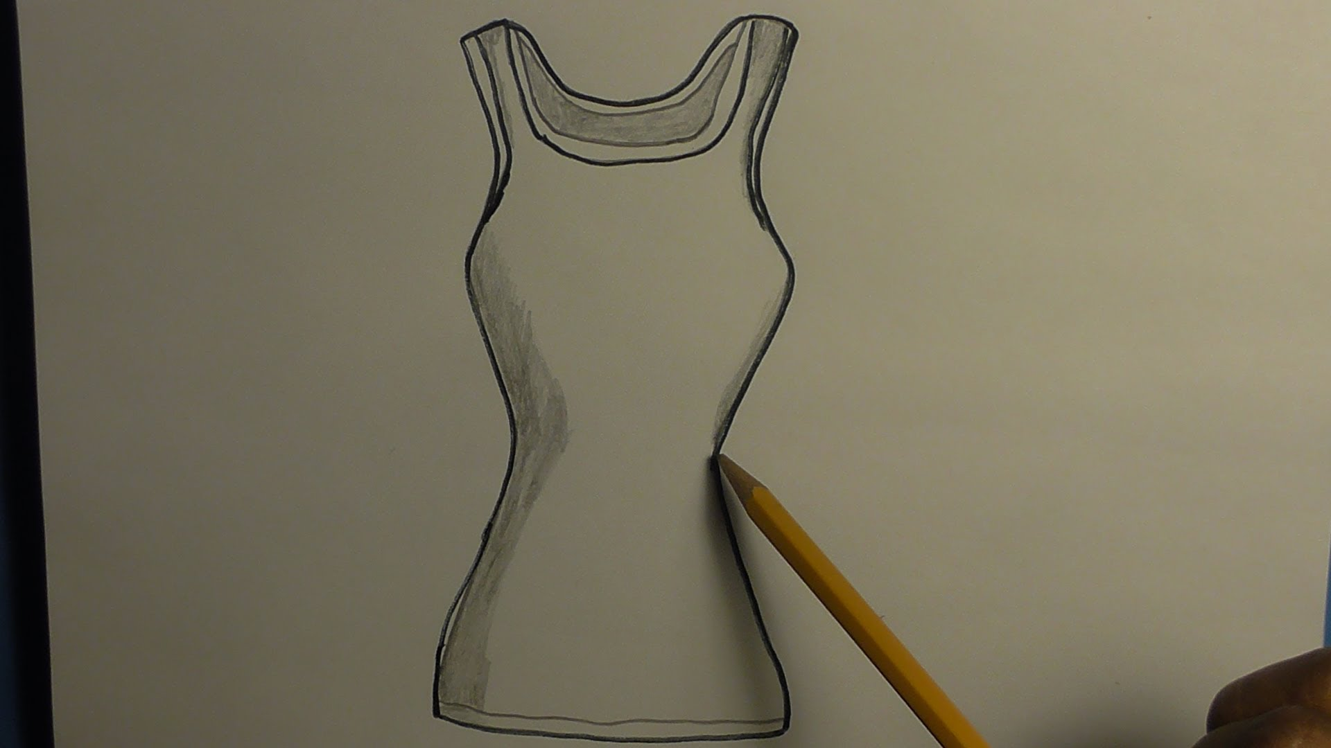 1920x1080 How To Draw A Tank Top