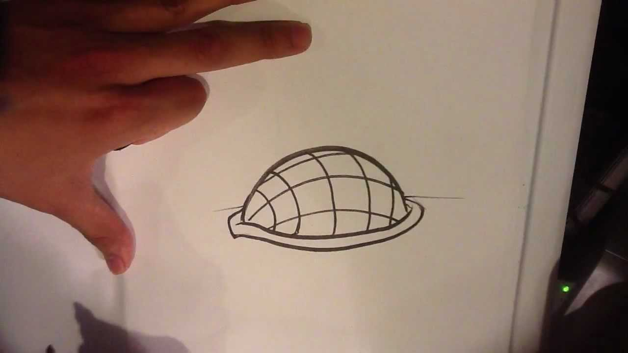1280x720 How To Draw A Turtle Shell
