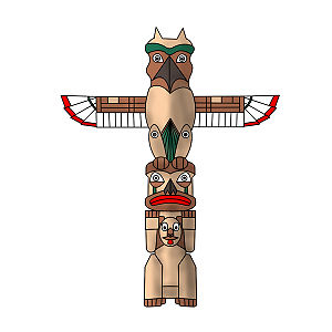 300x300 How To Draw A Totem Pole Wikihow To Draw Amp Paint