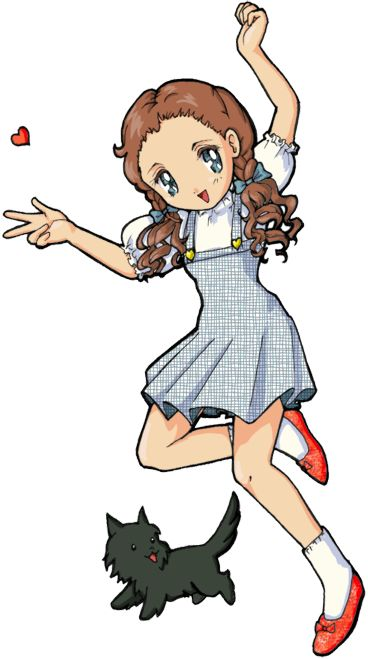 368x659 Image Result For Anime Dorothy Wizard Nobody Beats The Wiz