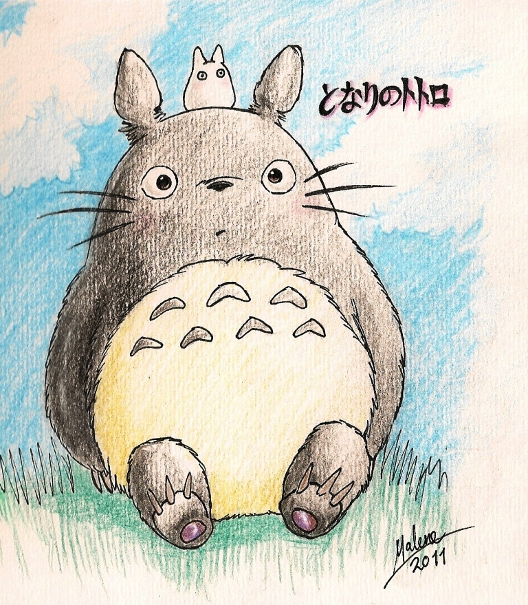 768x880 For Bottlecap Totoro Totoro