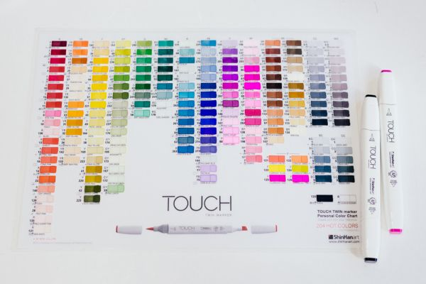 Touch Markers Color Chart Best Picture Of Chart Anyimage