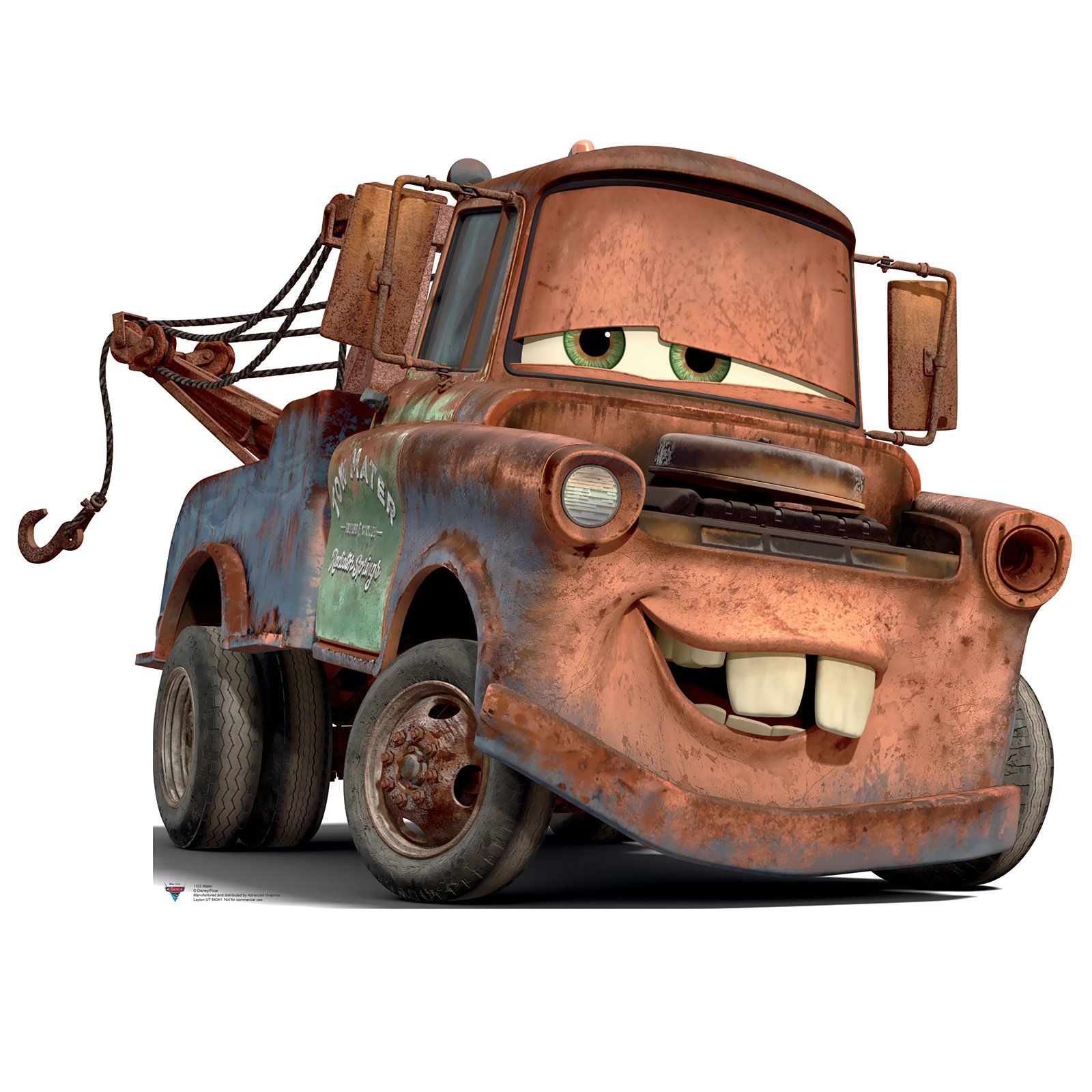 1600x1600 How To Draw Tow Mater From Disney Cars Movie Disney Cars Movie