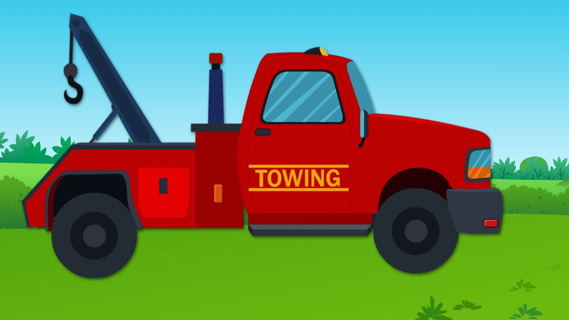 1920x1080 Tow Truck And Repairs Tow Truck Videos For Kids