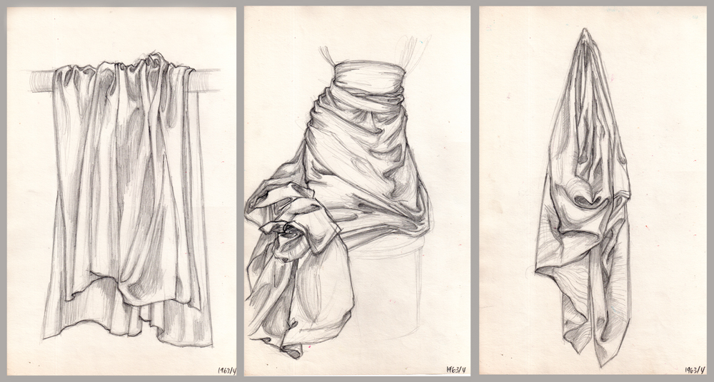 1000x536 Drawing Exercises Master Pastiches Amp Drapery