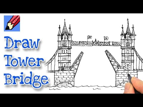 480x360 How To Draw Tower Bridge Shoo Rayner Author