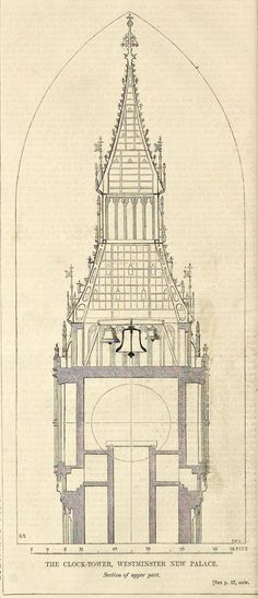 236x547 Home Place Clock Tower Drawing Tower