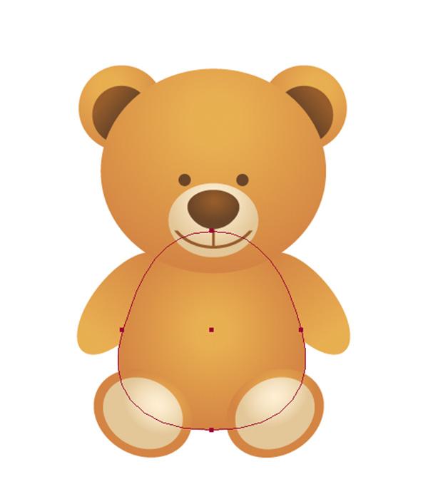 600x700 Create A Simple School Teddy Bear In Adobe Illustrator