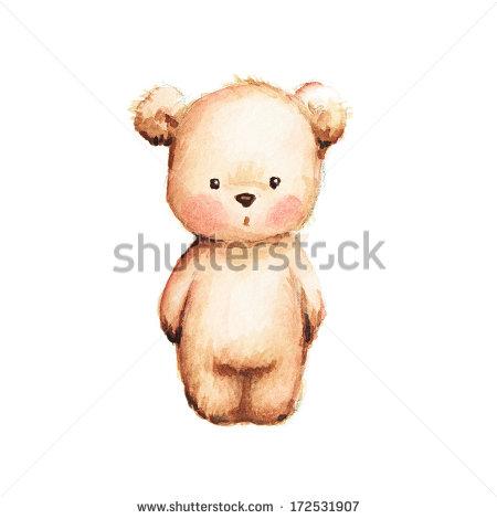 450x470 Drawing Of Cute Teddy Bear