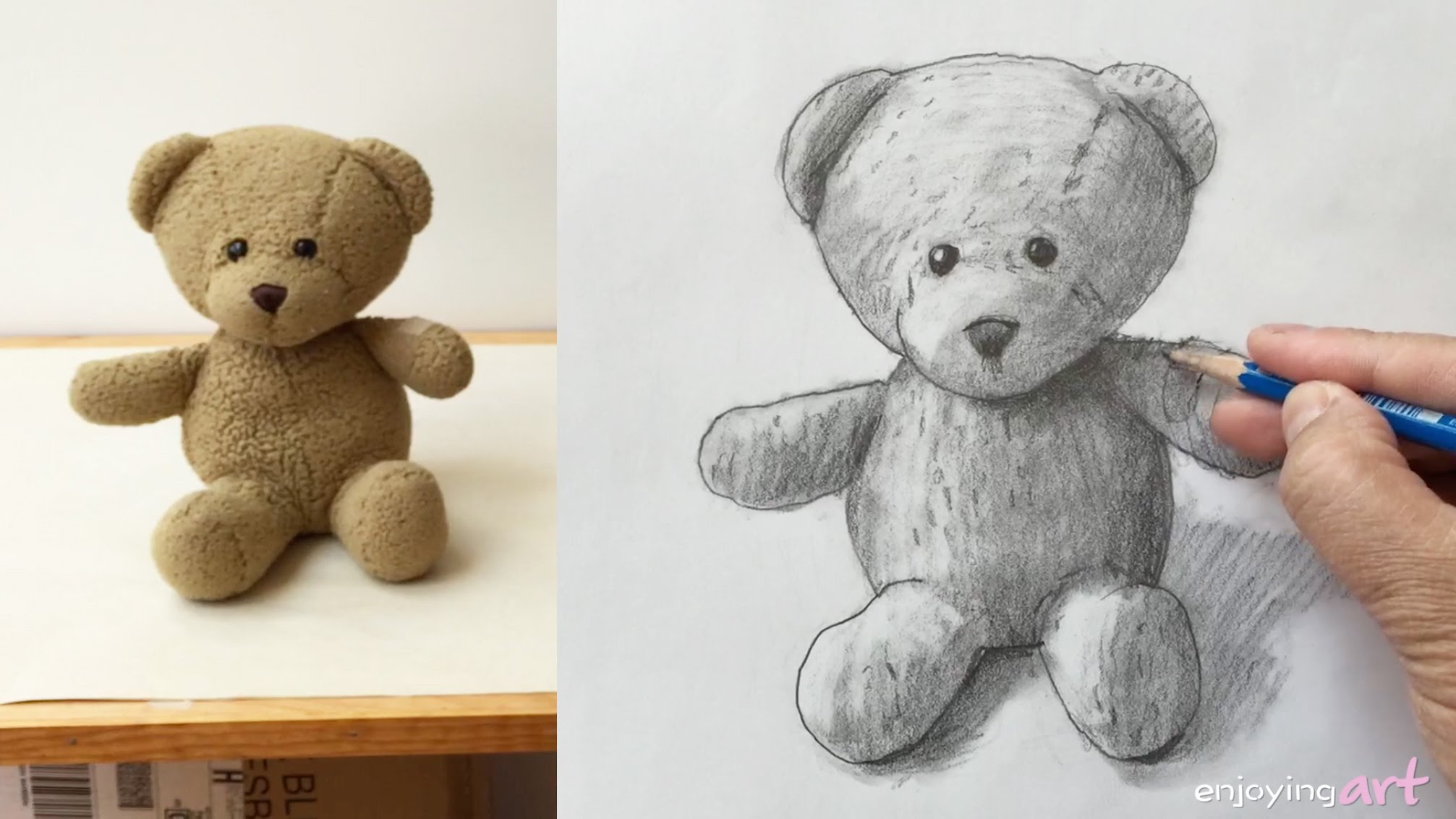 2013x1132 How To Draw A Teddy Bear