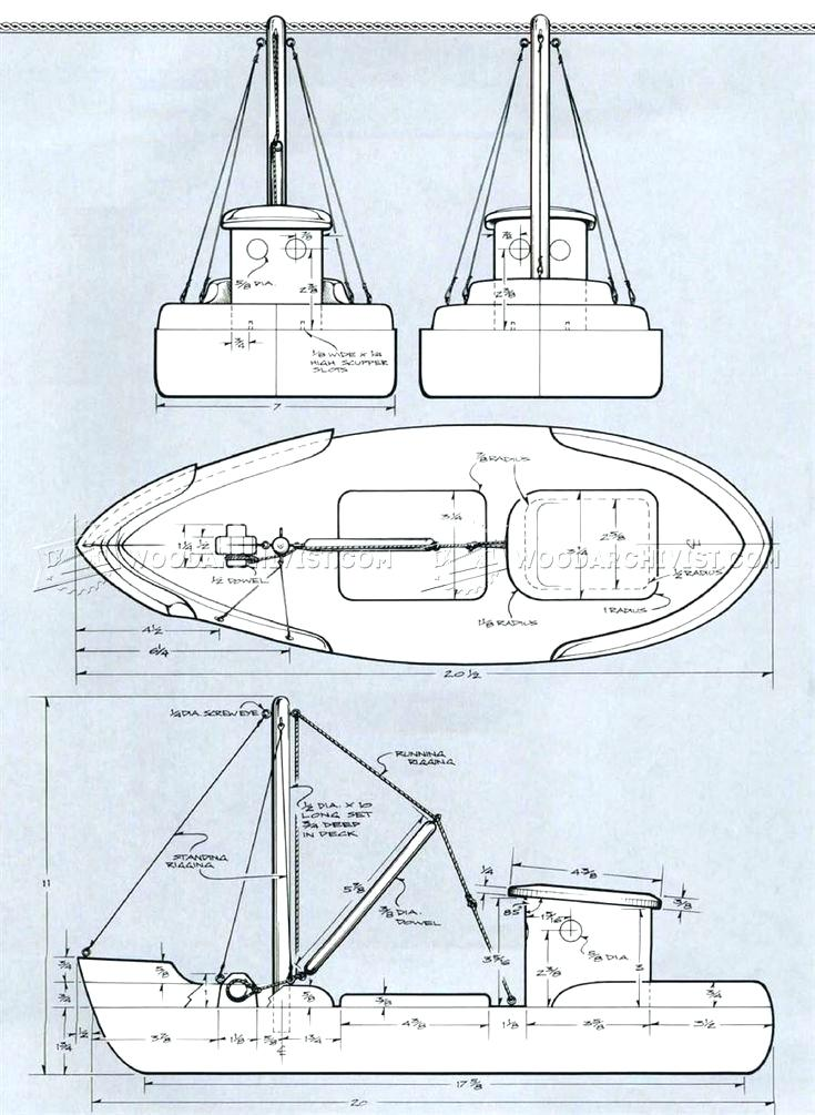 735x1005 Plans For Wooden Toys To Build Toy Fishing Trawler And Projects