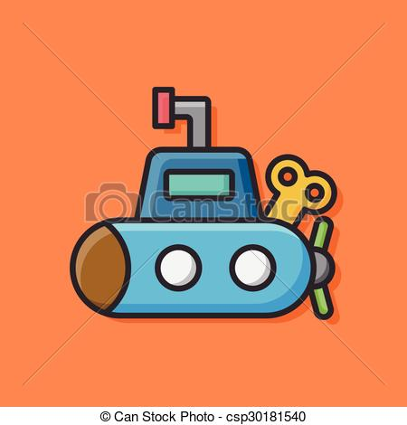 450x470 Toy Boat Icon Eps Vector