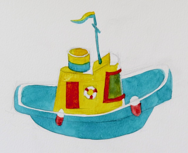 640x520 Drawing Toy Boats Barry Coombs Art Workshops