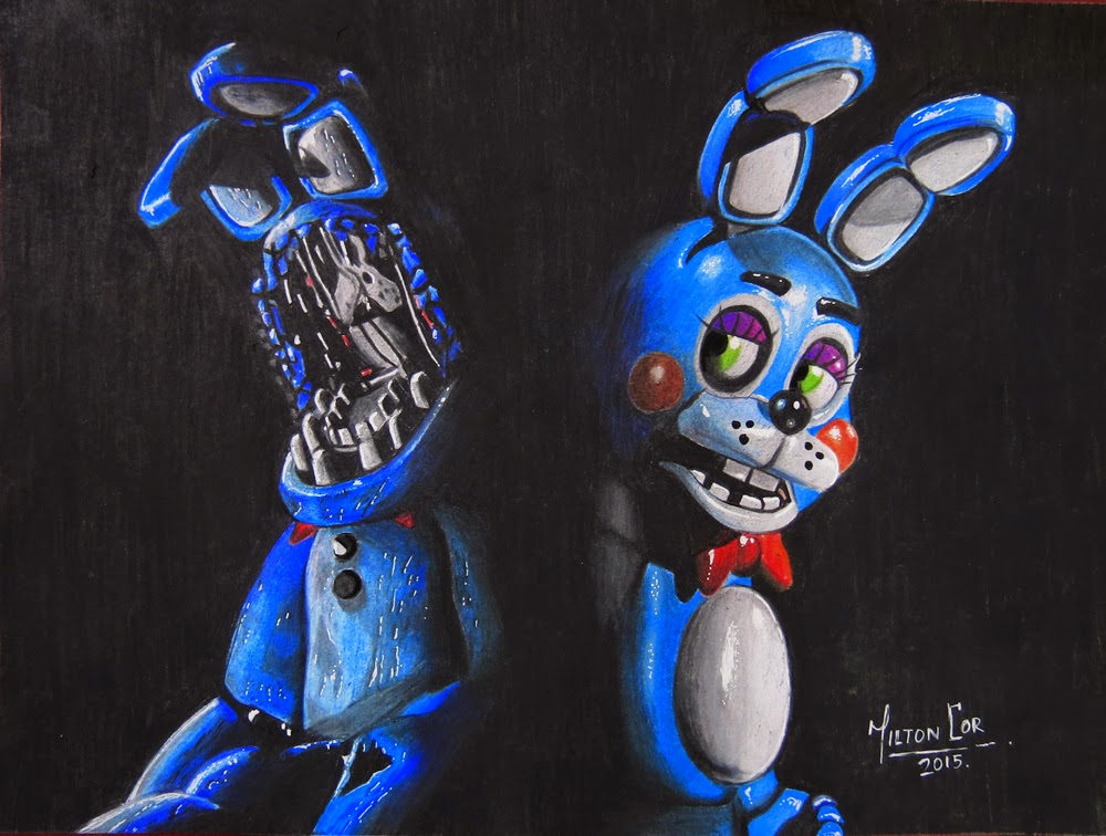 1000x756 Art, Painting, Drawing, Tips Tutorials Drawing Toy Bonnie