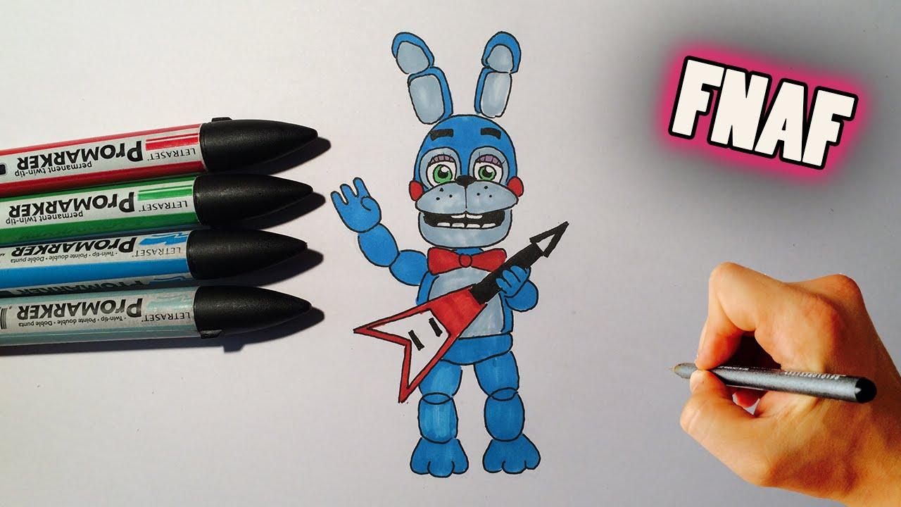 1280x720 How To Draw Adventure Toy Bonnie