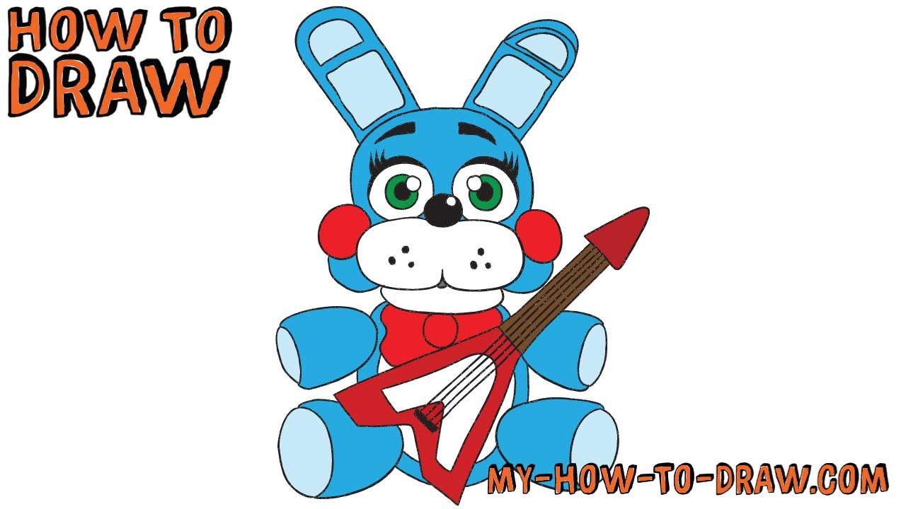 1280x720 How To Draw Plush Toy Bonnie