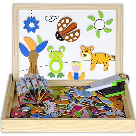 463x463 Wooden Magnetic Easel Multi Functional Animalampinsect