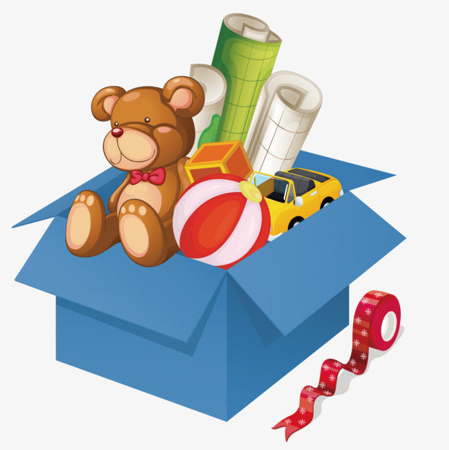 650x651 Vector Toy Box, Child, Bear, Drawing Png And Vector For Free Download