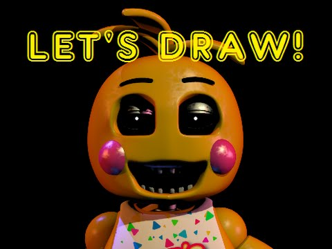 480x360 Drawing Fnaf2, Toy Chica