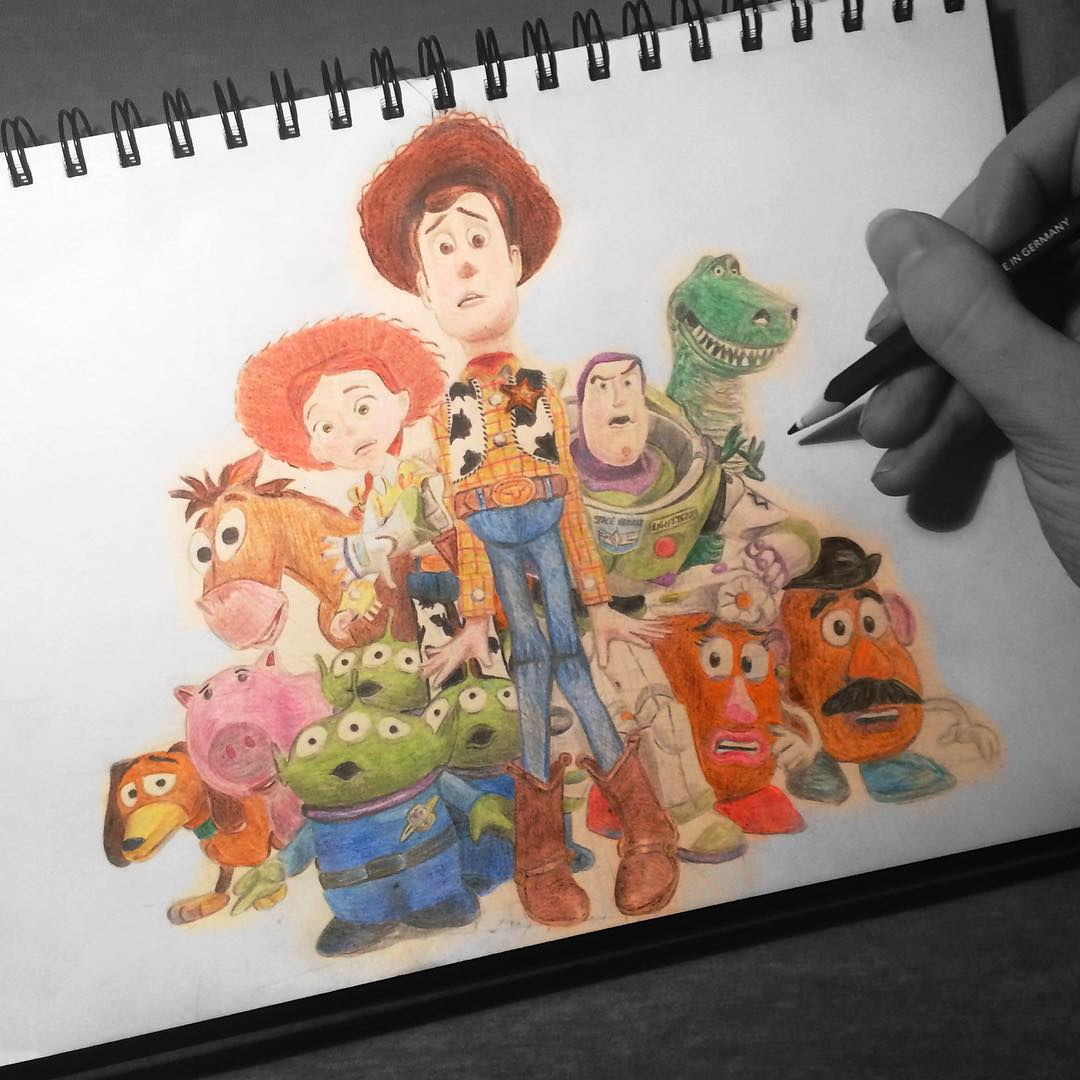 1080x1080 Disney Through The Ages Day 250 Did You Know Toy Story 3 Was