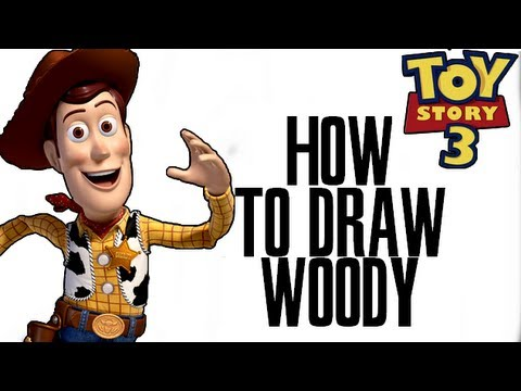 480x360 Drawing Woody ( Toy Story 3 )