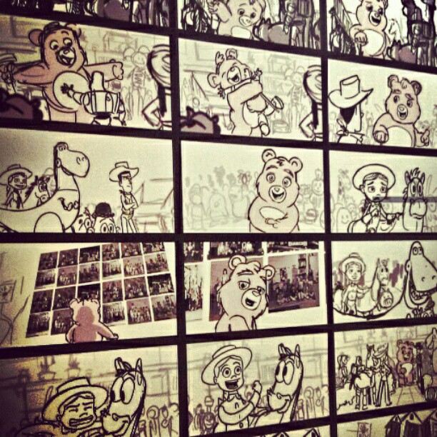 612x612 Line Drawings From Toy Story 3 Movie. Some Seem To Have A Lot