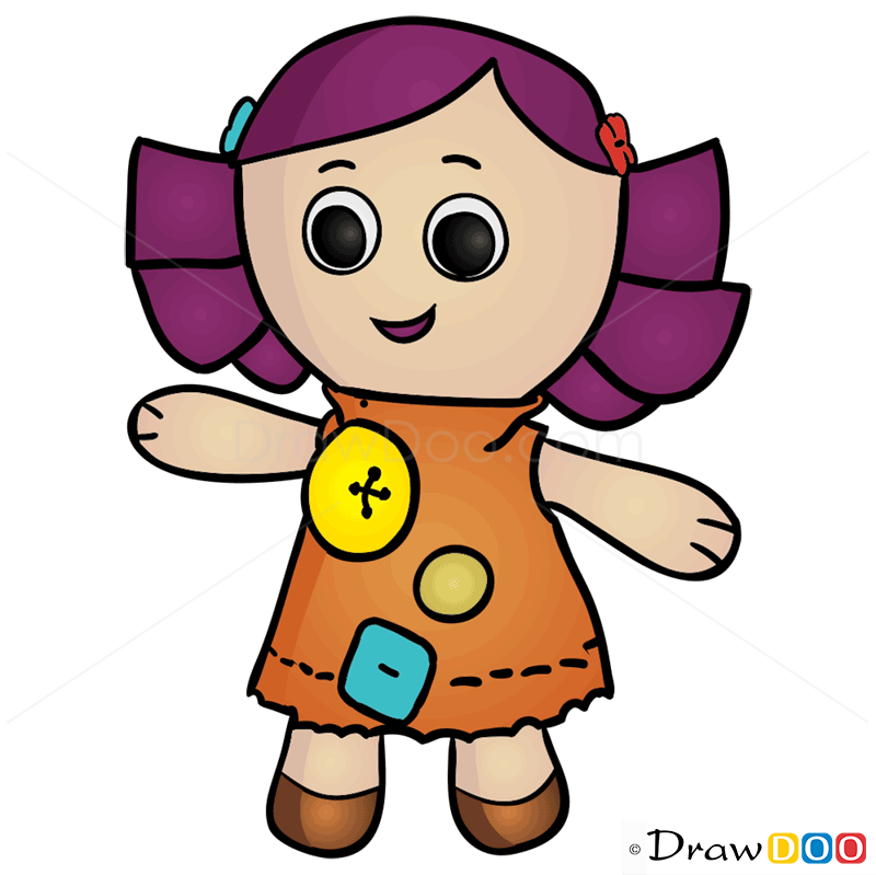 800x799 How To Draw Dolly, Toy Story