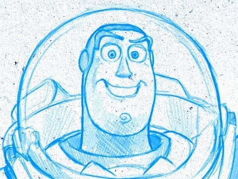 480x360 How To Draw Like Pixar (Toy Story, Wall E, Monsters Inc, Up